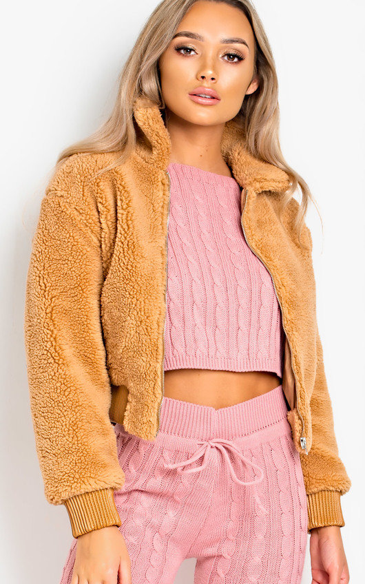 Kloe Teddy Bear Jacket