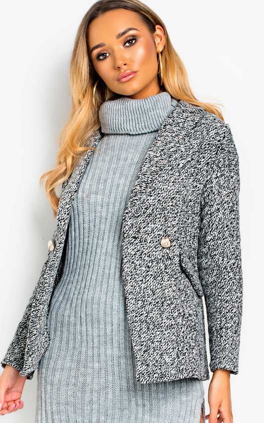 Kojo Button Up Blazer Style Jacket