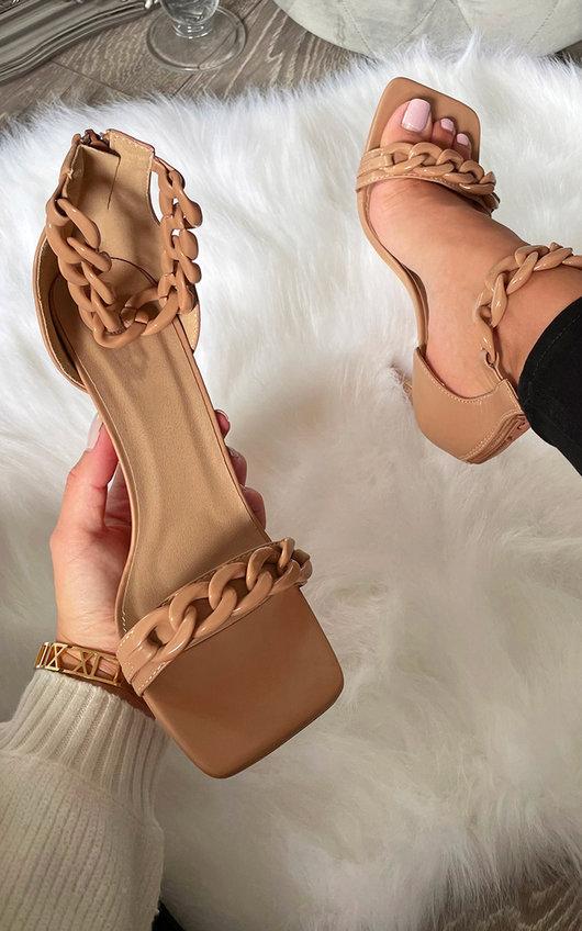 Kourt Chain Detail Heels