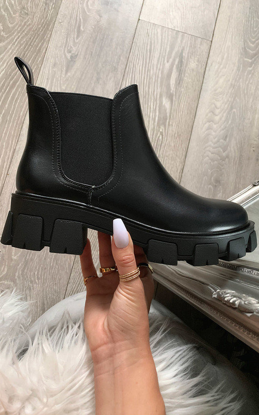 Kourtney Mega Chunky Ankle Boots