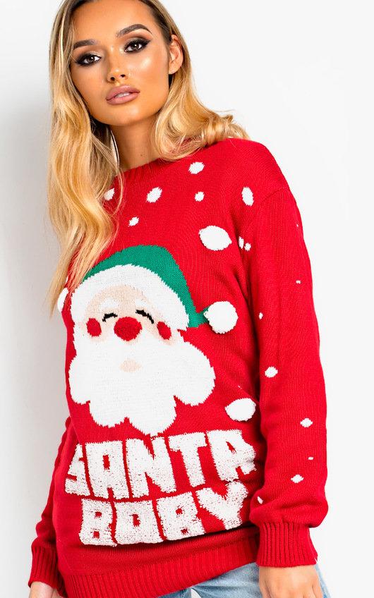 Kris Santa Baby Christmas Jumper