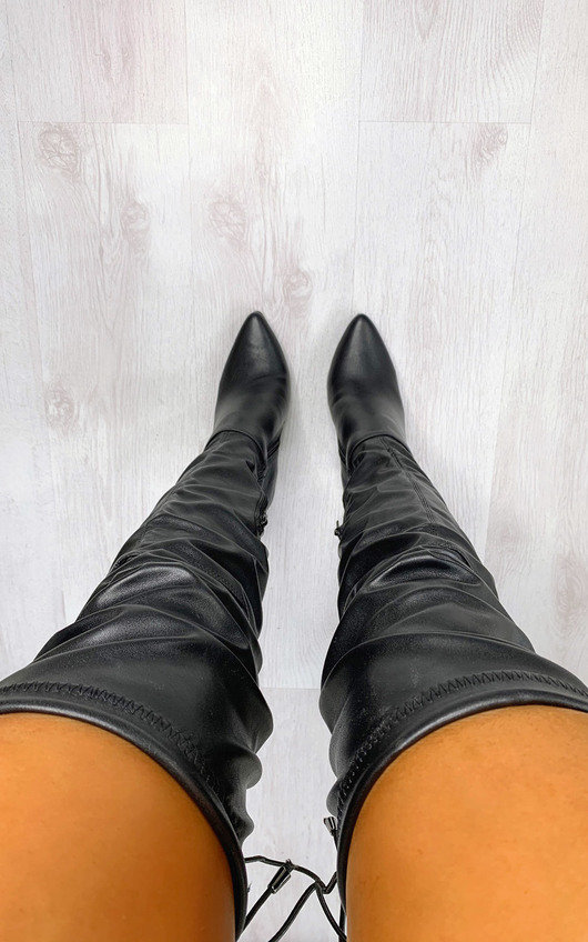 Kristy Over The Knee Heeled Boots
