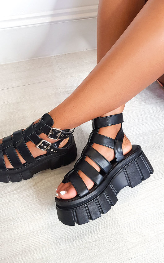 Kristy Strappy Platform Sandals