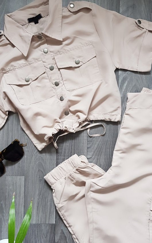 Kye Cargo Shirt and Joggers Co-Ord