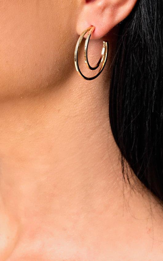 Kylee Double Hooped Earrings