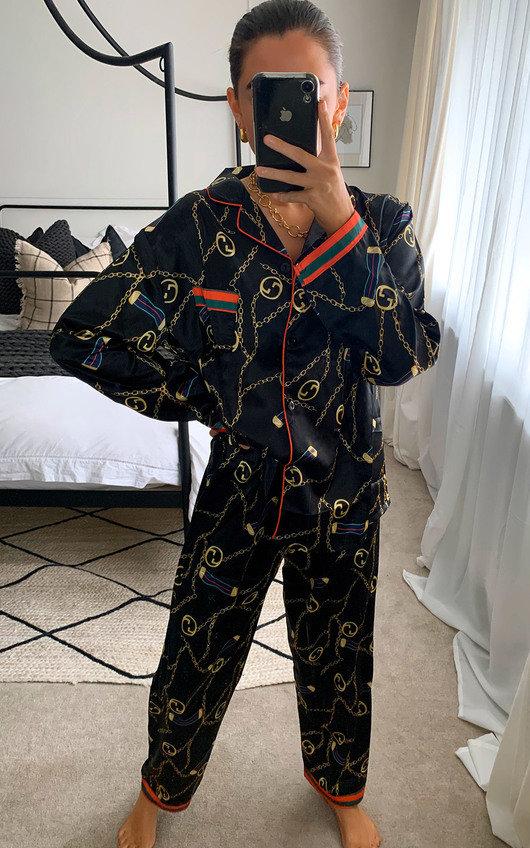 Kylie Printed Pyjama Co-ord