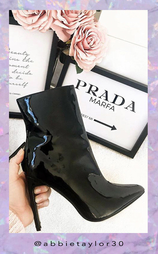 Lala Point Heeled Ankle Boots
