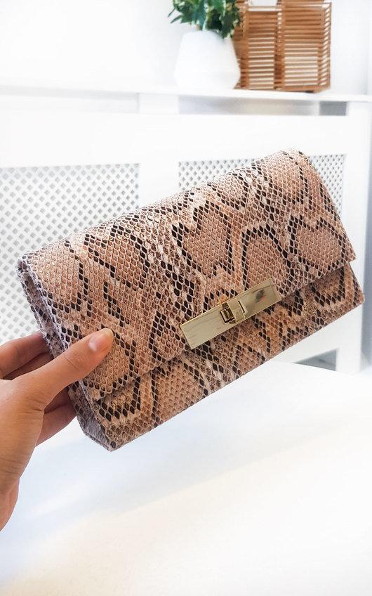 Lala Printed Clutch Bag