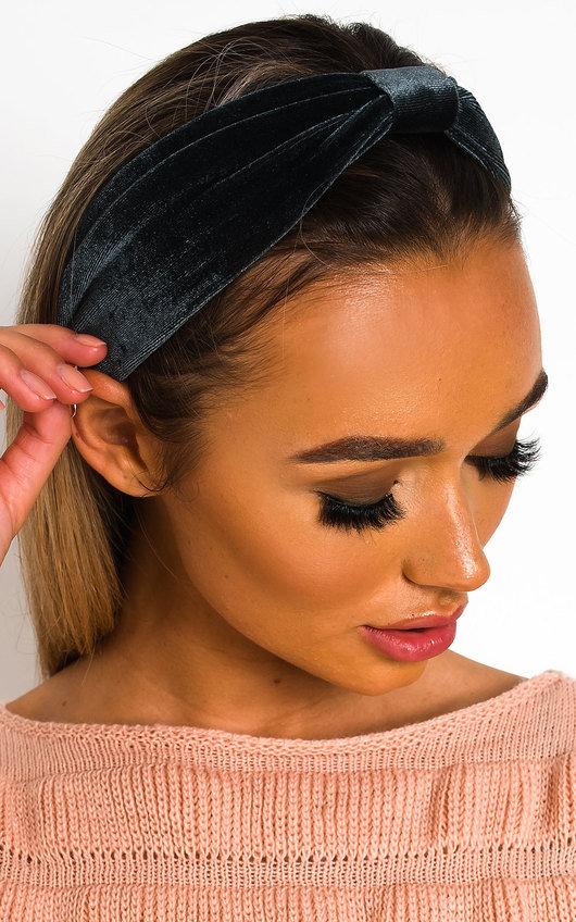 Lala Velvet Bow Headband