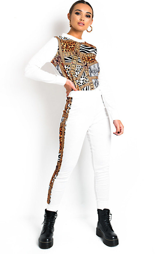 Lalla Animal Print Lounge Co-ord