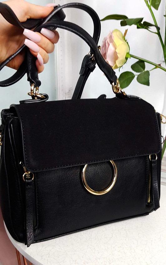 Lana Circle Detail Shoulder Bag
