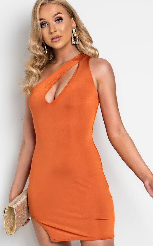 Lana Cut Out One Shoulder Mini Dress