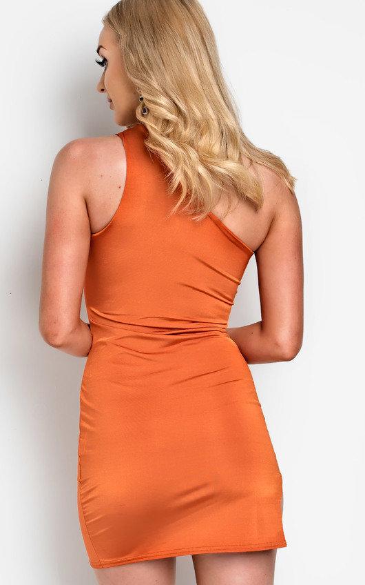 Lana Cut Out One Shoulder Mini Dress