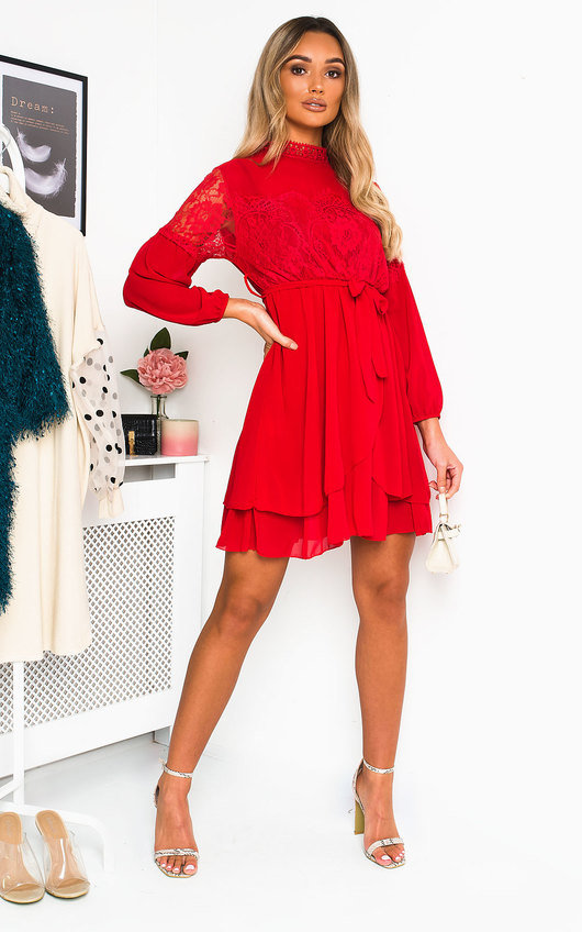 Lanah Lace Shift Dress