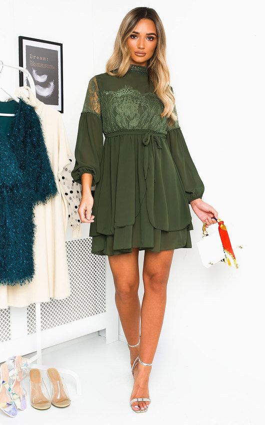 Lanah Lace Shift Dress