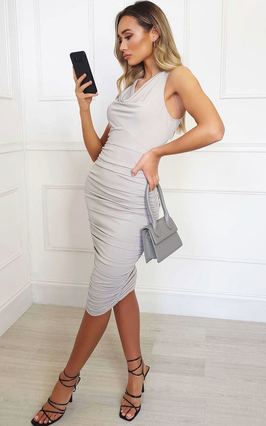 Lara Bodycon Midi Dress