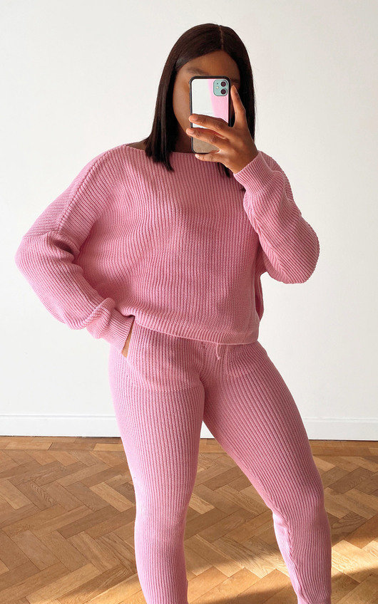Laura Knitted Ribbed Co-ord