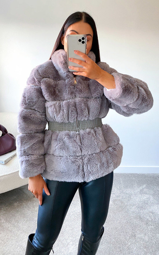 Lauren Faux Fur Coat