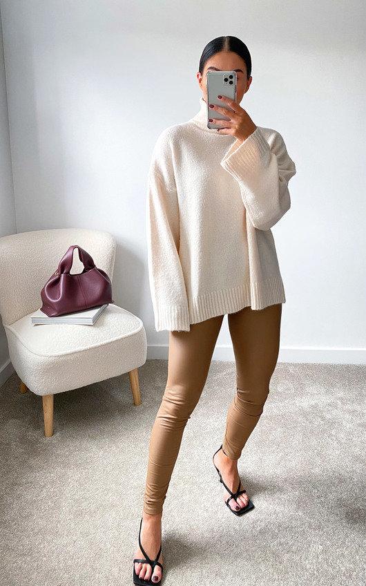 Lauren Faux Leather Leggings