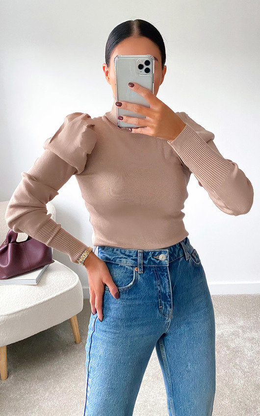 Lauren Puff Sleeve Jumper