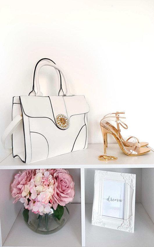 Layla Diamante Embellished Handbag