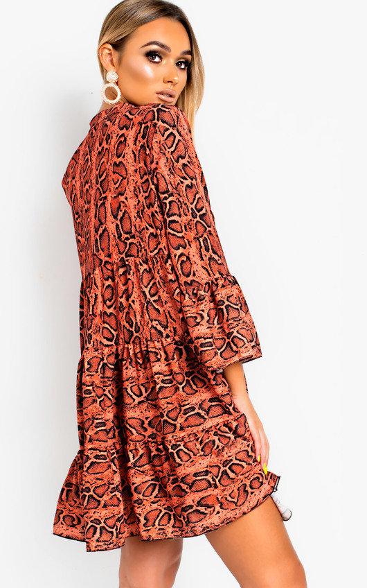 Layla Printed Smock Dress Thumbnail 0e8dec73c