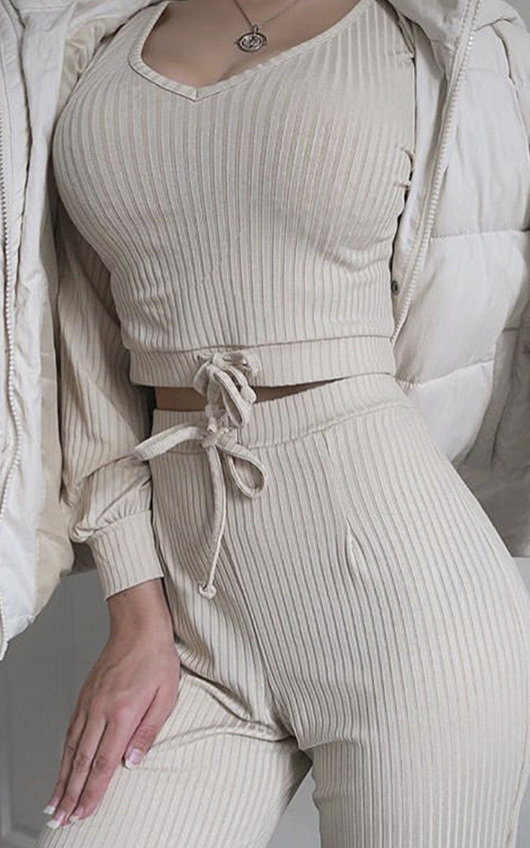 Layla Ribbed Lounge Co-ord