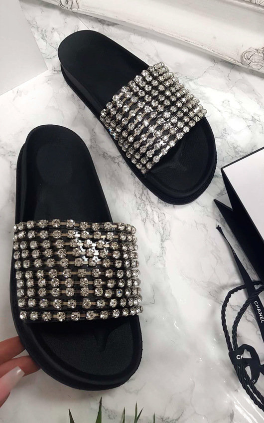 Leah Embellished Sliders
