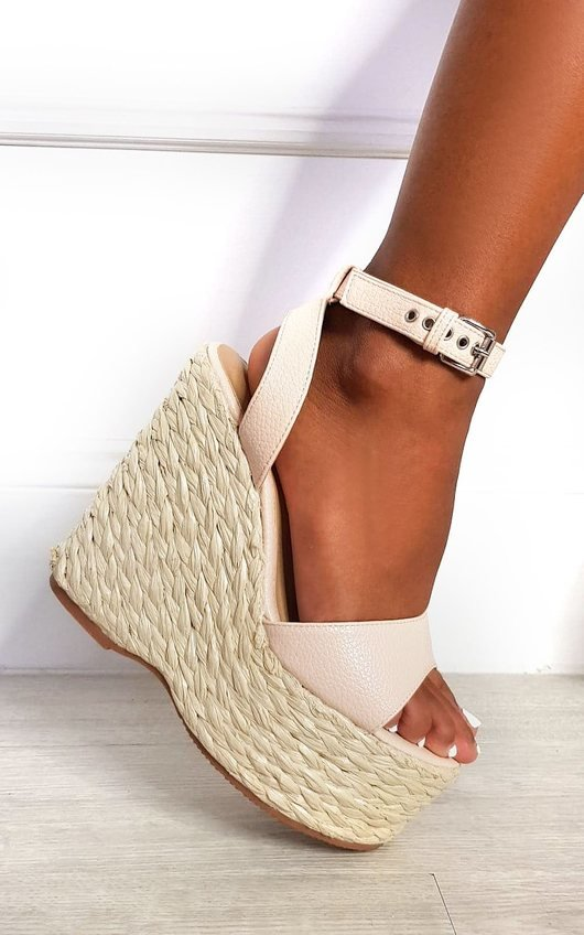 Leanna Strappy Wedged Heel