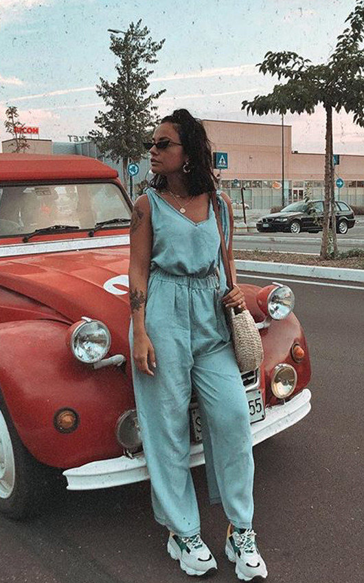 Leanne Denim Jumpsuit