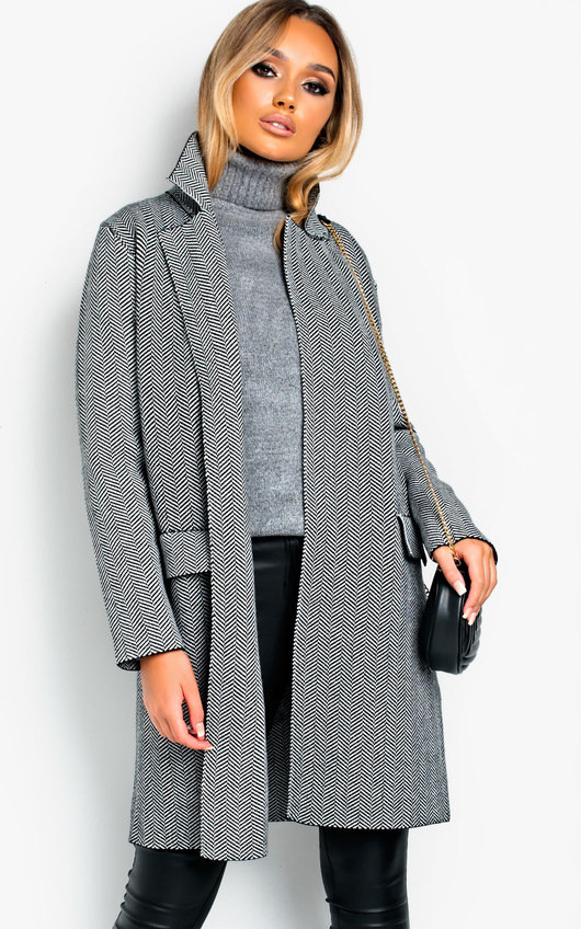 Leanne Patterned Coat