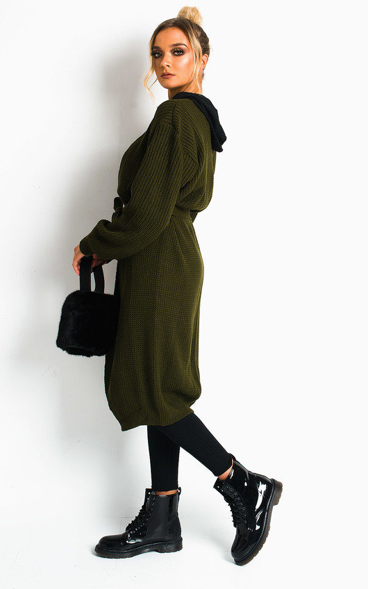 Lee Longline Knitted Cardigan