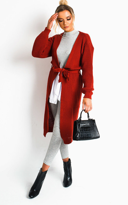 Lee Longline Knitted Cardigan