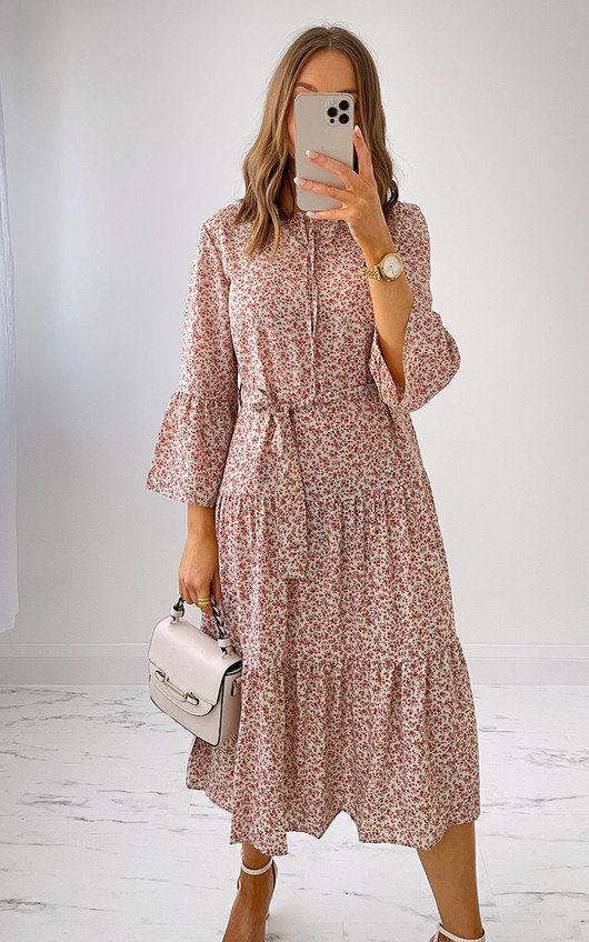Lena Tiered Dress