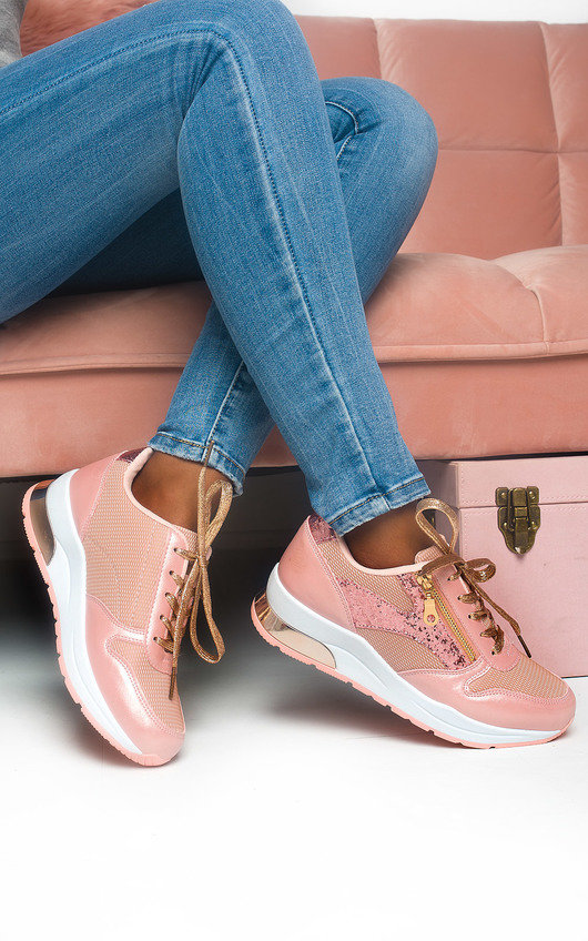 Lesley Chunky Mesh Trainers