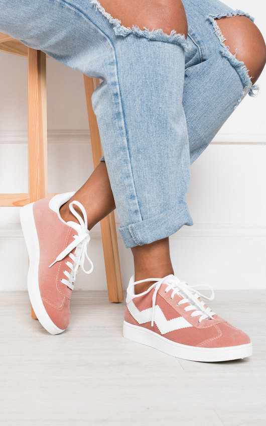 Lesley Lace Up Trainers