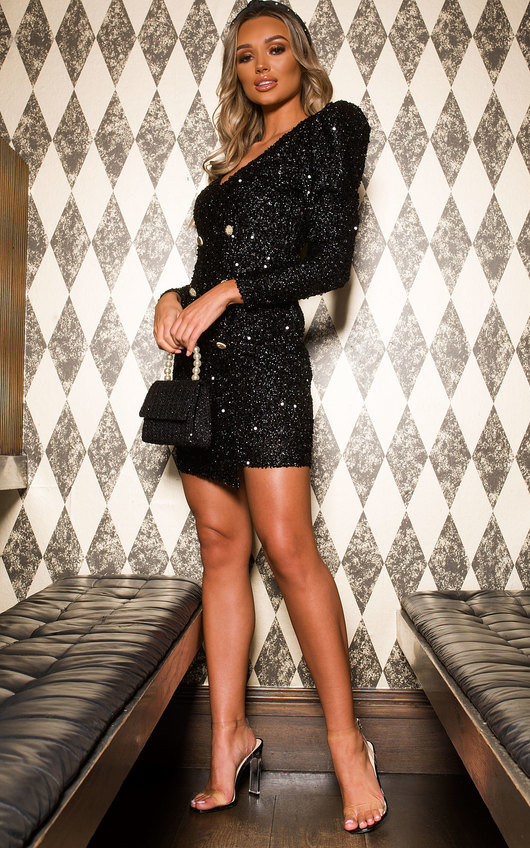 Lexie Sequin Bodycon Dress