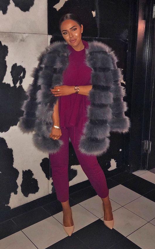 Leyla Faux Fur Jacket