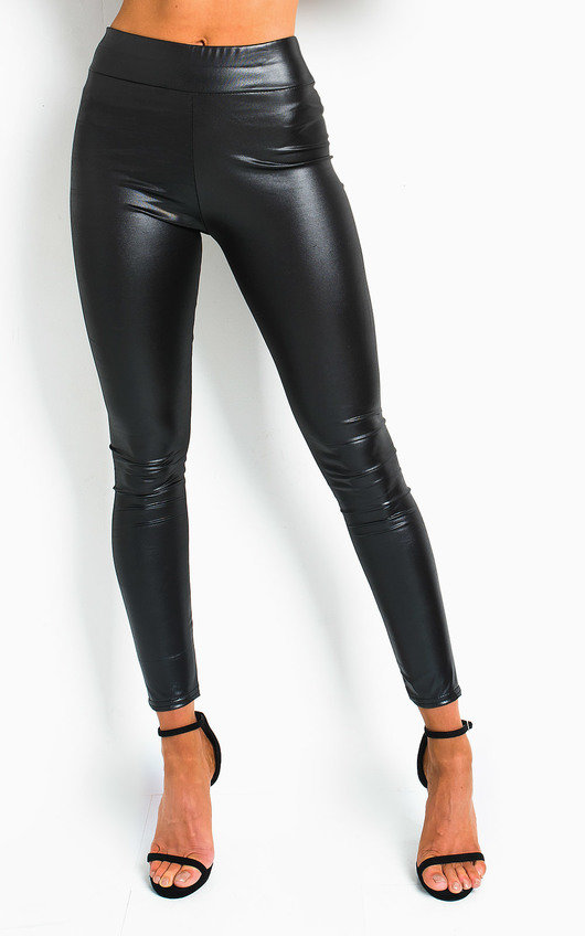 Liana Faux Leather Leggings