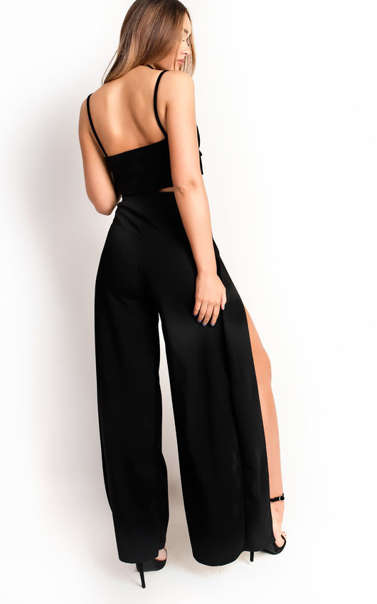 Liberty Wide Leg Cropped Co-ord