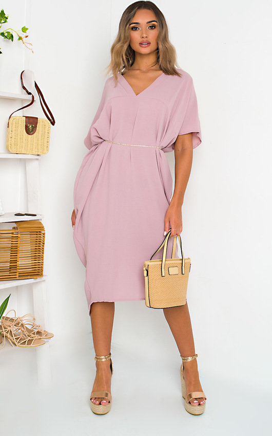 Lina Batwing Maxi Dress