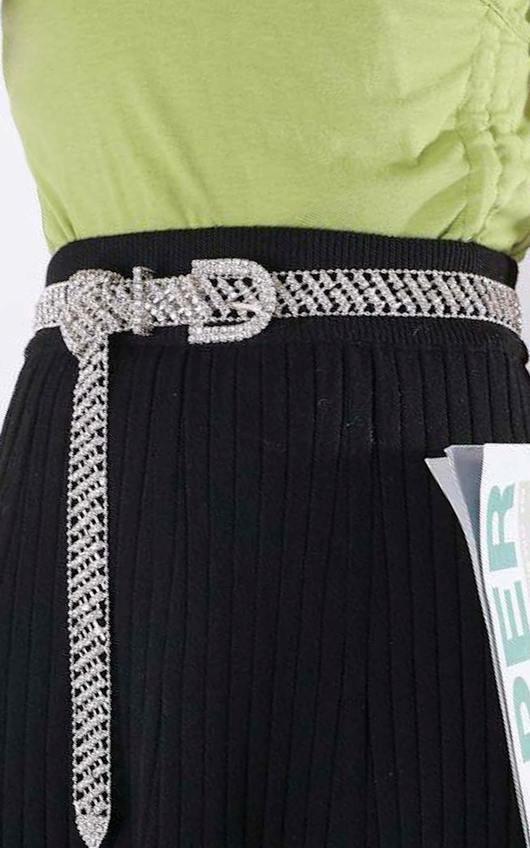 Lina Diamante Chain Belt