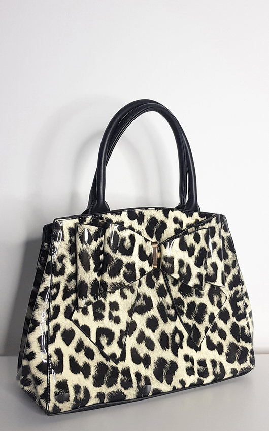 Lina Leopard Shoulder Bag