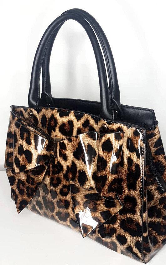 Lina Leopard Shoulder Bag