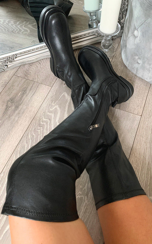 Lisa Knee High Boots
