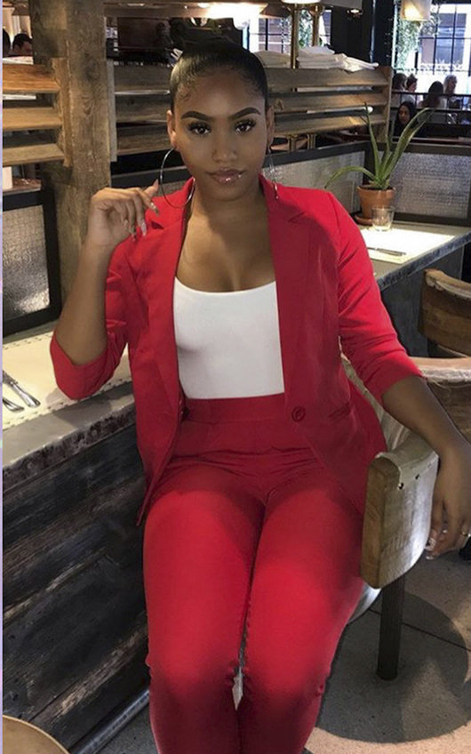 Lisa Tailored Blazer And Cropped Trouser Co-ord