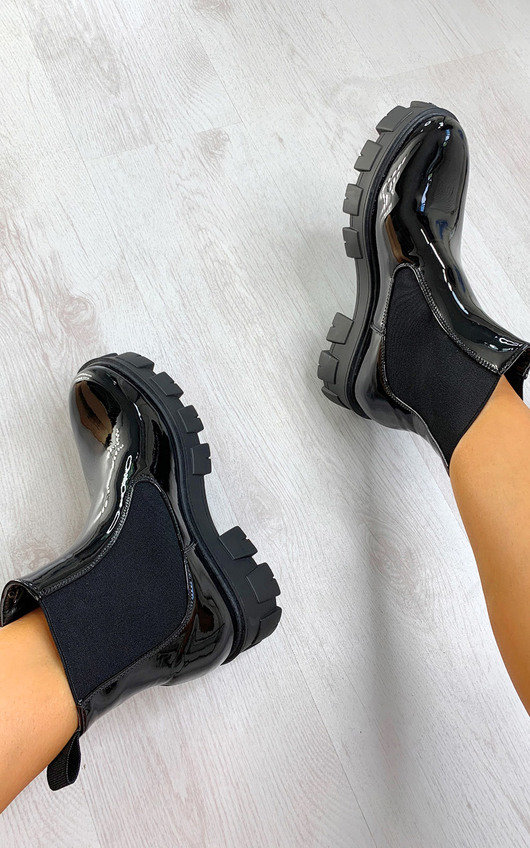 Lissy Mega Chunky Ankle Boots
