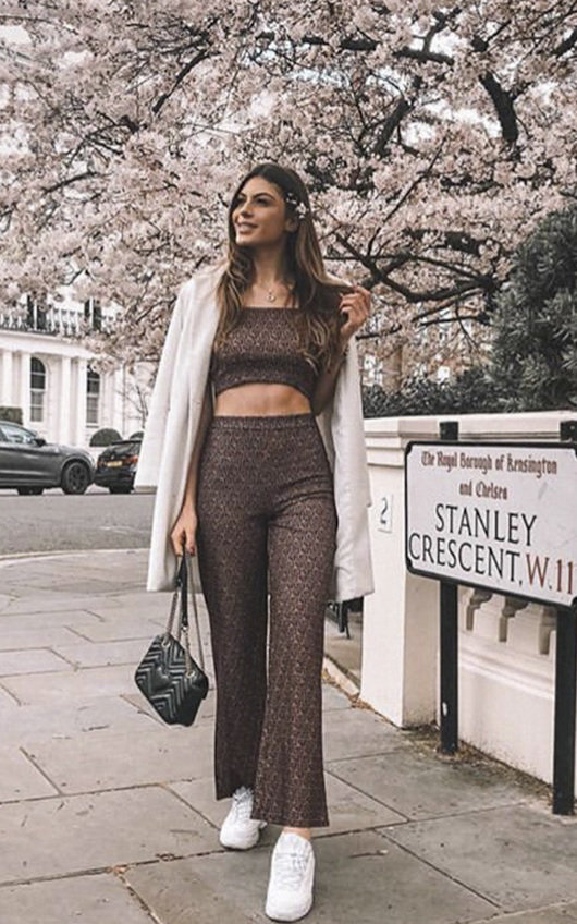 Lissy Stretch Wide Leg Co-ord