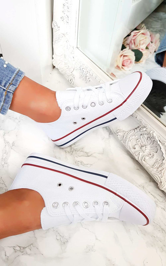 Livi Lace Up Baseball Trainers