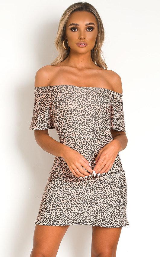 Livia Leopard Dress